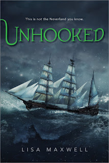 fuelled by fiction, fueled by fiction, book blog, book reviews, books, unhooked, captain hook, peter pan, retelling, peter pan retelling, lisa maxwell