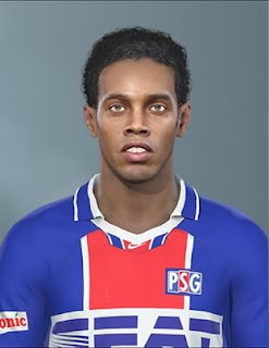 PES 2019 Faces Ronaldinho By DNA+I Facemaker