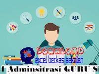Download 24 Administrasi Guru SD Lengkap dalam 1 File RAR