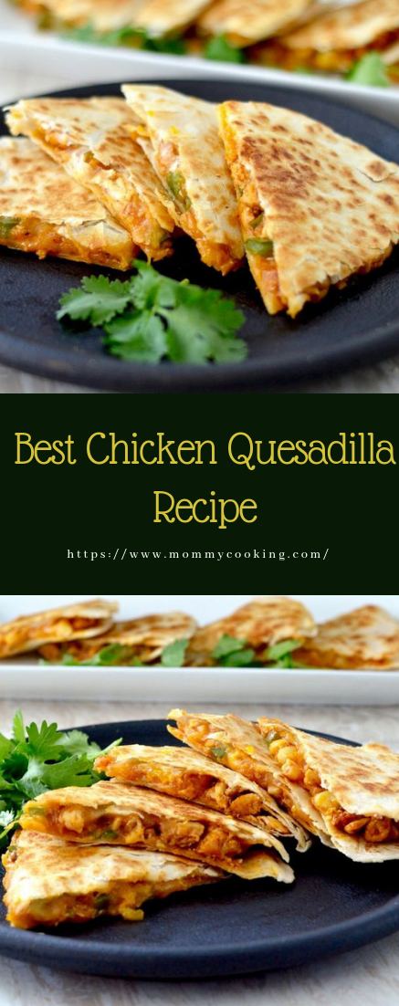 Best Chicken Quesadilla Recipe #recipe #dinner