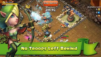 New Download Castle Clash: Age of Legends Moad+Apk v1.2.8 Terbaru 2016