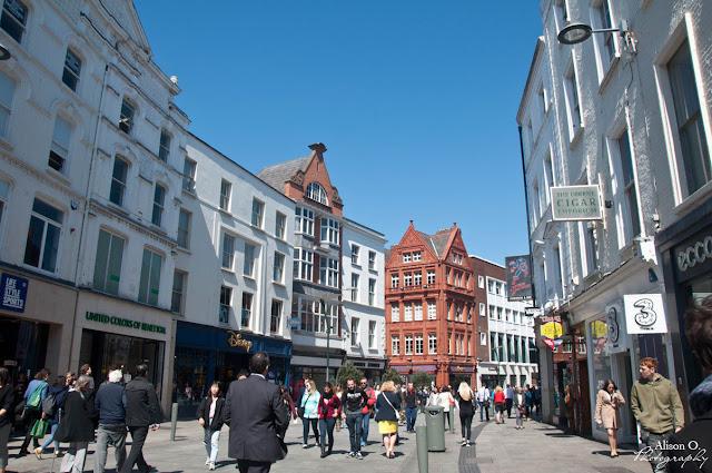 Citytrip dans Dublin - Grafton street