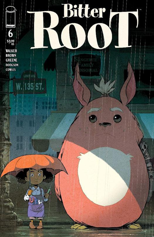 Bitter Root 6 - Sanford Greene Variant Cover