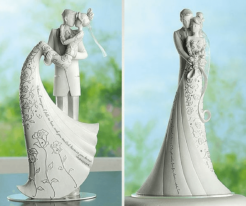 интересни фигурки за торта във формата на статуетки