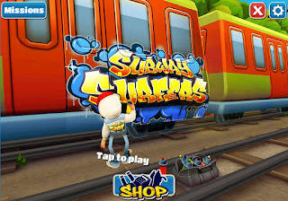 Cover Game Subway Surfers PC