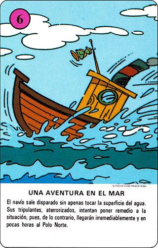 Baraja Los Fruittis Carta rosa 6