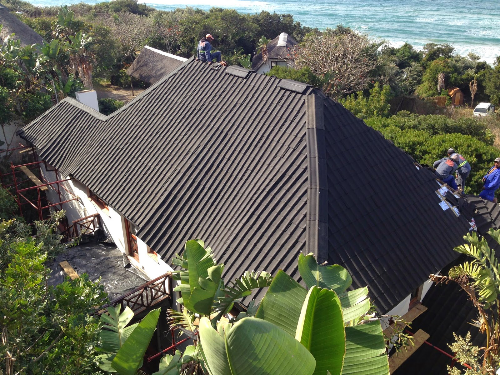 Change A Thatch Roof To Onduvilla Tiles