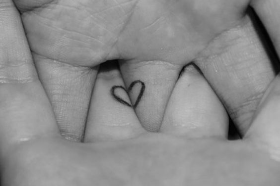 Heart Wedding Ring Tattoos