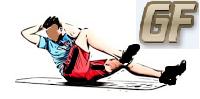 Cross crunch melatih otot perut tanpa alat