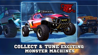 Game Monster Trucks Racing App