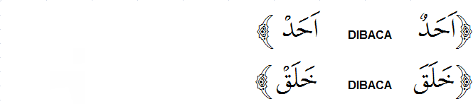 Contoh QalQalah Kubro