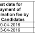 KU B.Tech First Year Regular Exam Fee last date