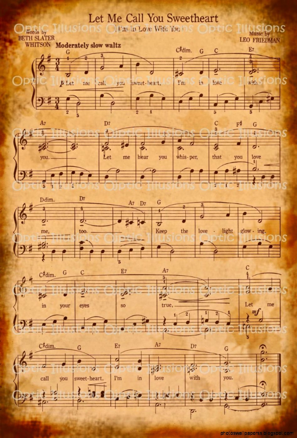 Sheet Music Desktop Wallpaper   www.imgkid.com - The Image ...