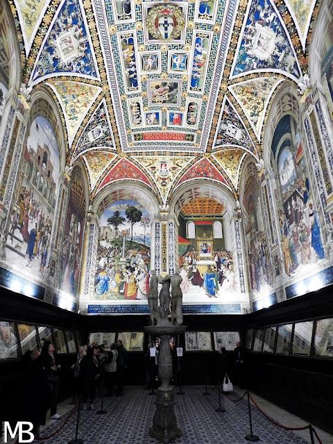 libreria Piccolomini duomo di Siena