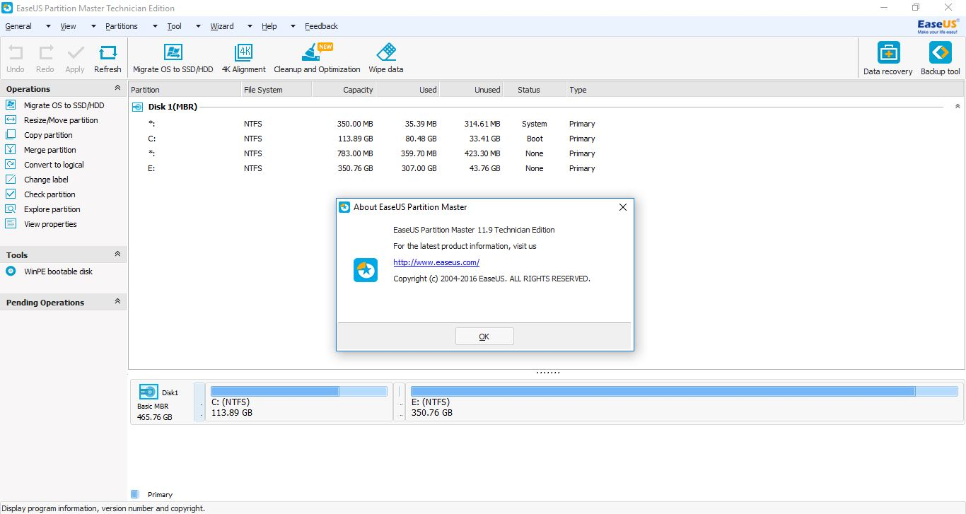 Easeus partition master 5.8 1 server edition free download for windows 7