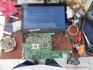 Serfis Laptop Lenovo Ideapad Z470 Konslet