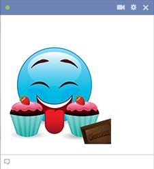 Tasty Cupcakes Emoji