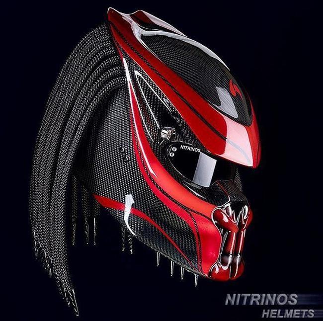 Ultra Tendencias Cascos De Moto Con Rastas Inspirados En