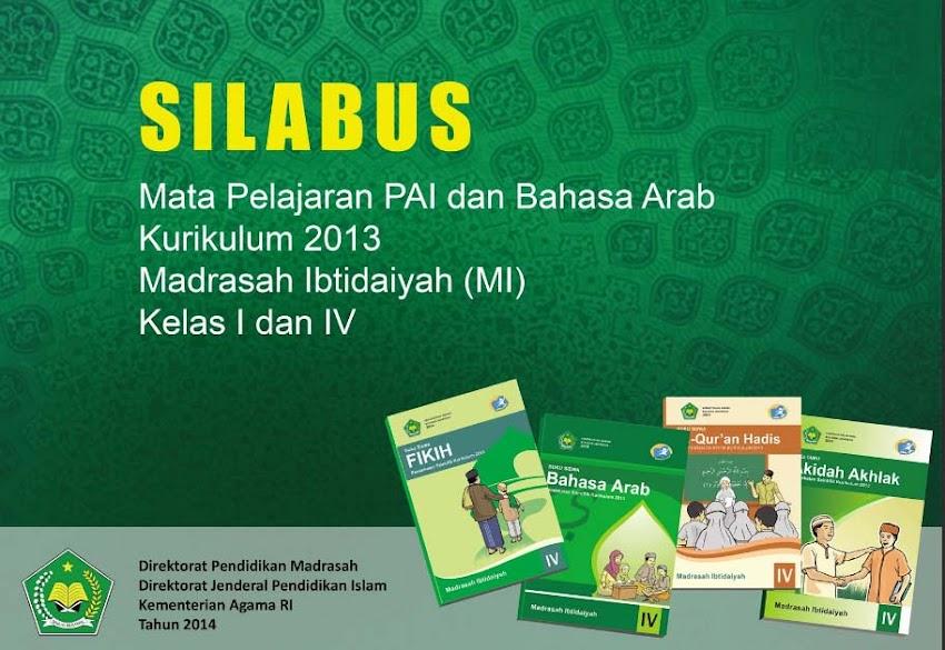 DOWNLOAD SILABUS BAHASA ARAB KURIKULUM 2013 KELAS IV MADRASAH IBTIDAIYAH (MI)
