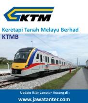 Jawatan Kosong Berkanun Keretapi Tanah Melayu Berhad (KTMB)