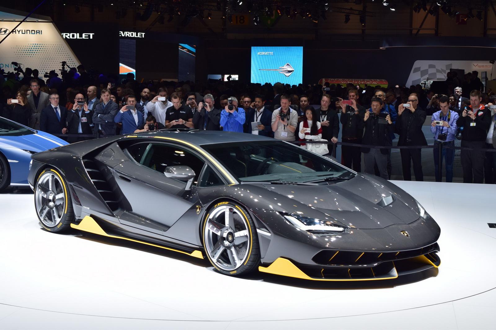 Lamborghini Centenario 2017 sẽ là tâm điểm của làng xe thể giới
