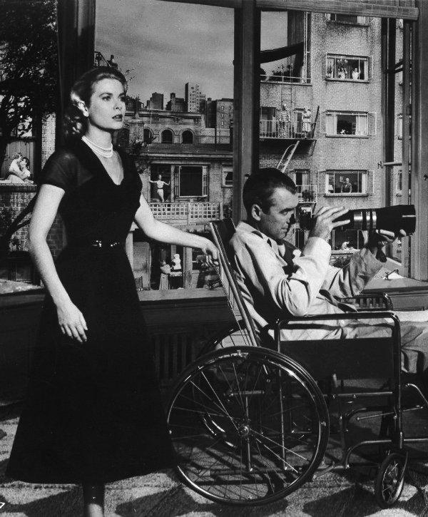"""Grace Kelly, em """"Janela Indiscreta"""", 1954"""