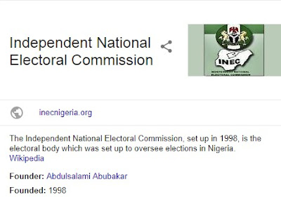 Independent National Electoral Commission recruitment 2018/2019 - See Application Guidelines Here