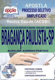 Apostila Processo Seletivo Bragança Paulista - Reviva Saúde (ACSBI)