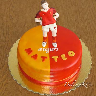 torta della roma giocatore