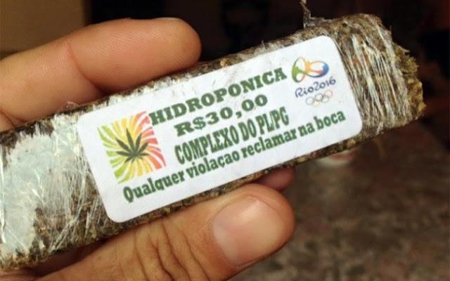 Maconha hidropônica olímpica vendida no Rio tem até garantia para os ervoafetivos