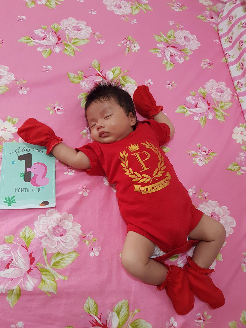 Tradisi Muaguek Manyue Baby One Month Celebration Michelearns