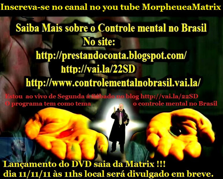 DVD Saia da Matrix !!!!