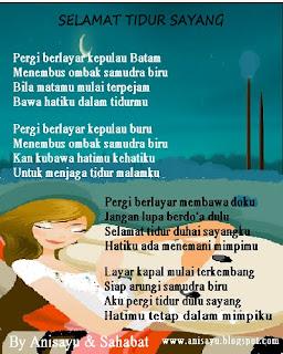 Puisi Selamat Tidur Sayang 2019