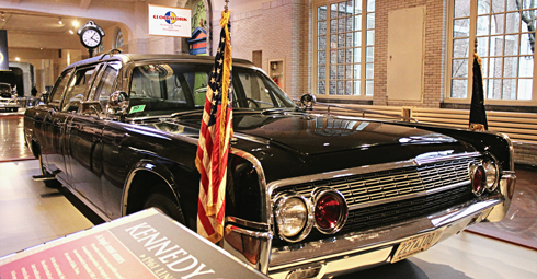 kennedy jkf presidential vehicles henry ford museum limo