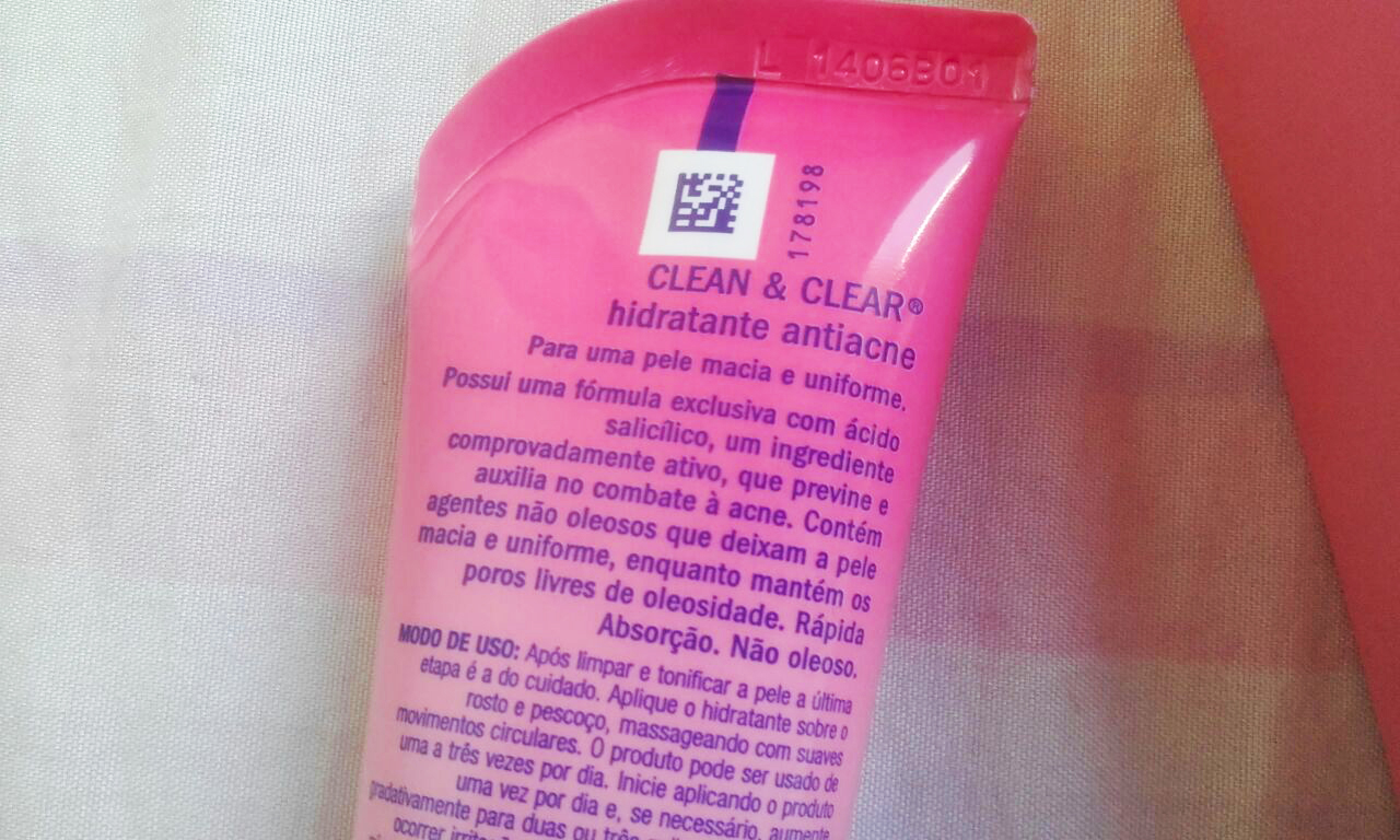 Como usar Hidratante Antiacne Clean  & Clear
