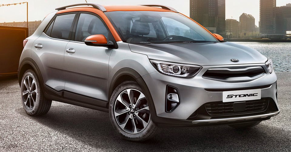 new kia stonic sub compact suv officially unveiled. Black Bedroom Furniture Sets. Home Design Ideas