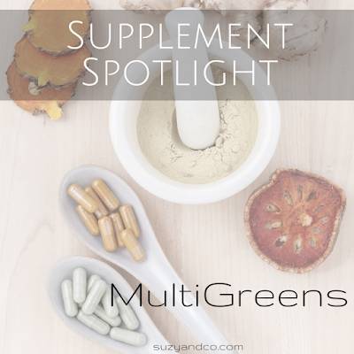 supplement spotlight - multigreens