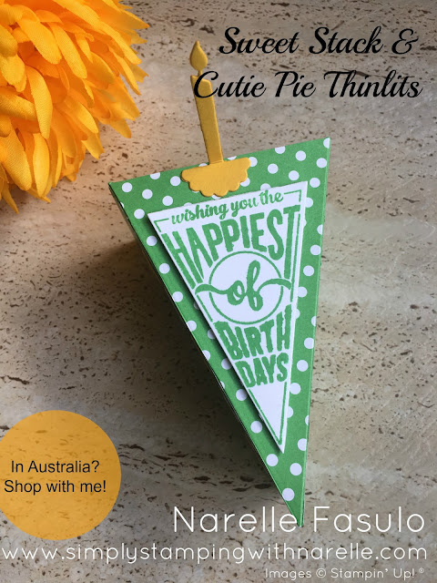Cutie Pie Thinlits - Simply Stamping with Narelle - available here - http://bit.ly/2oehOea