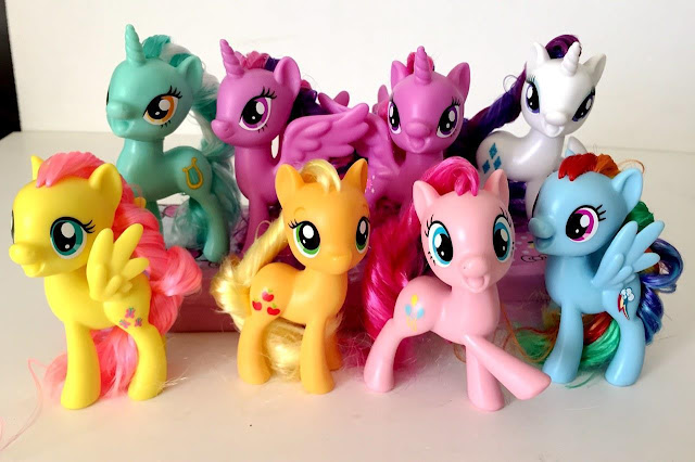 New Mold Brushables (Possible MLP Movie Merch) Appear on eBay