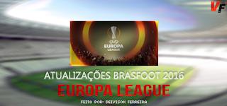 Atualização Europa League - Brasfoot 2016