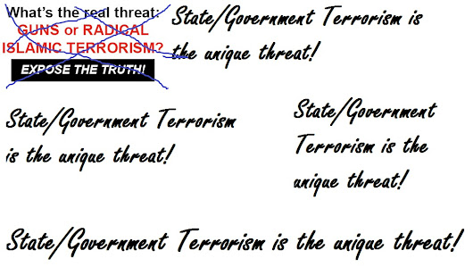 Roberto Abraham Scaruffi: State/Government Terrorism is the unique threat!
