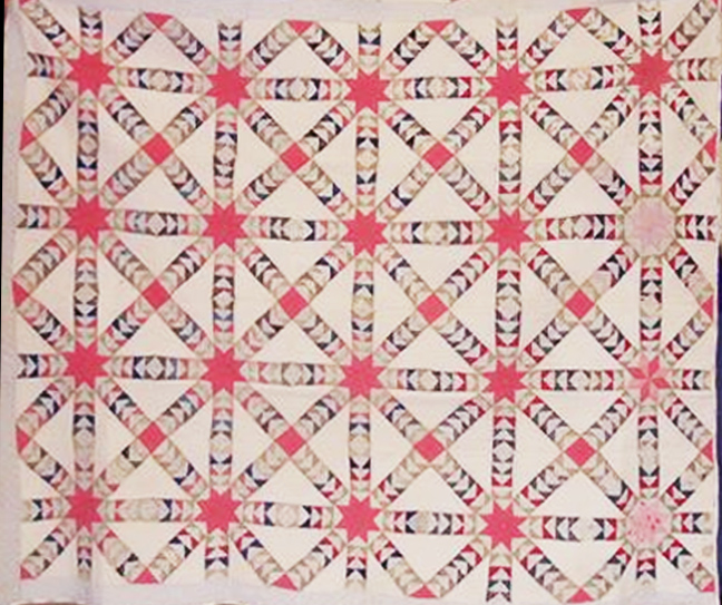 Cloud of Quilt Patterns: Tangled Cobweb
