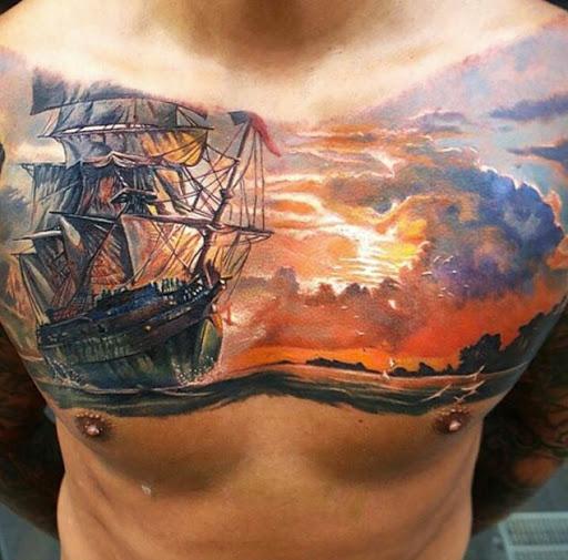 Incroyable Navire De Tatouages Vous Ne Le Croirez Pas Sont De V 233 Ritables Id 233 Es Et Photos De