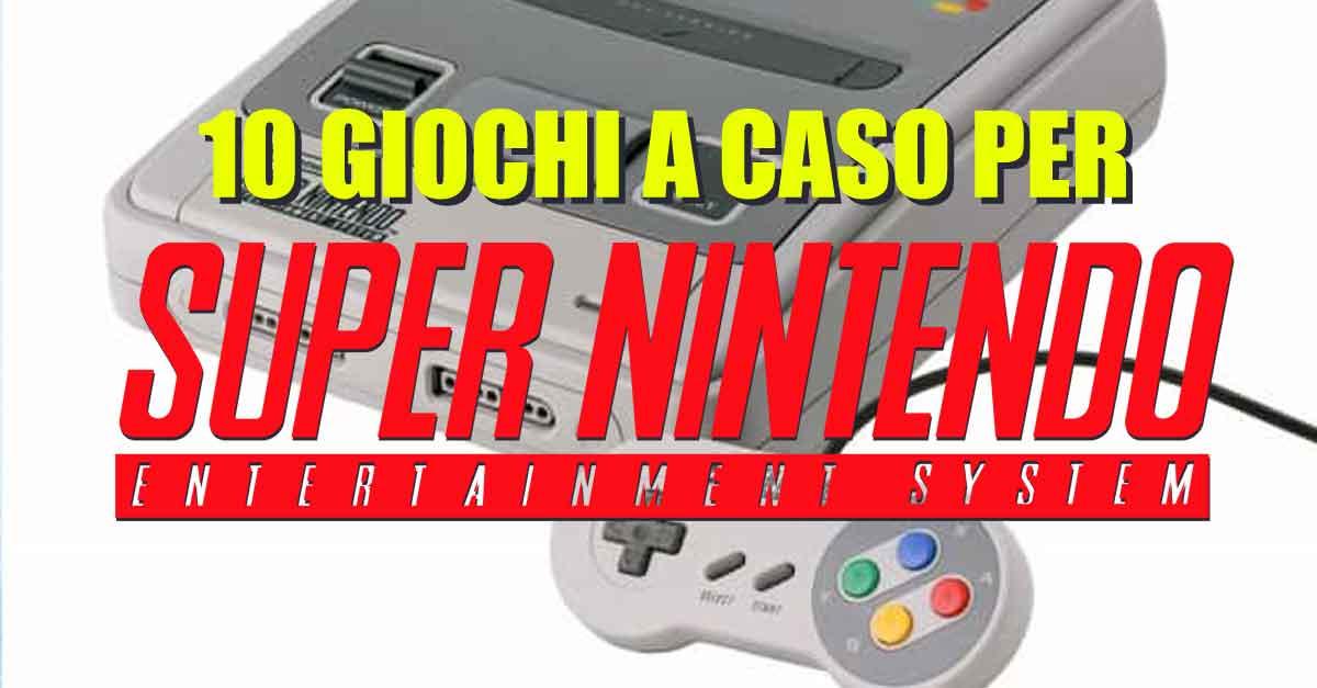 Il Super Nintendo e i 16-bit in tutto il loro splendore