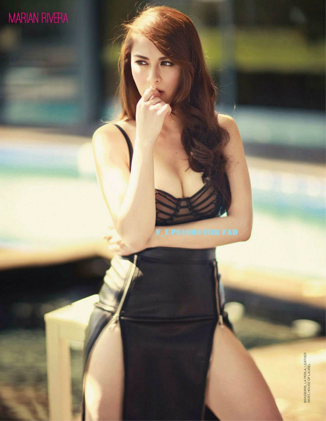 Well Remember My Early Post About The Marian Rivera Fhm Cover Here Well Here Are More Pictures Of Her I Was Able To Find On The Web
