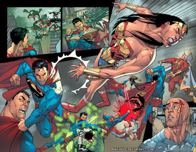 Captain Marvel Vs Superman New 52