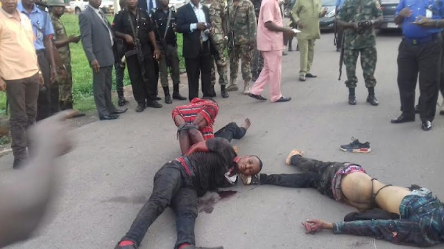 Members-of-deadly-Armed-Robbers-terrorizing-Enugu-residents-arrested,-one-killed-(Photos)