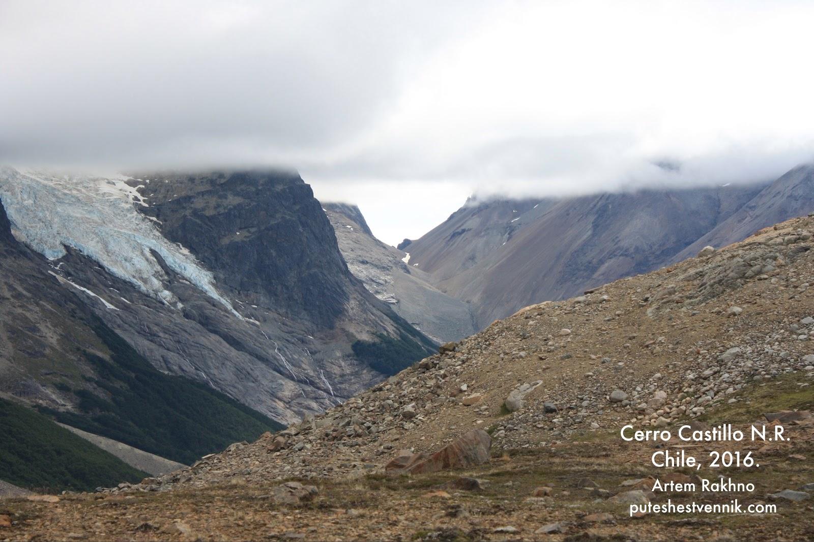 Горы и плотная облачность