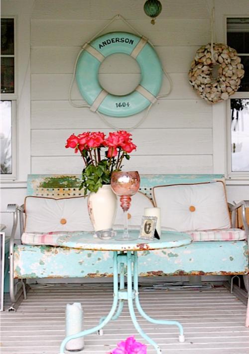 Beach Bungalow Cottage Porch