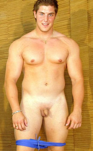 Naked men with small cocks